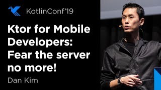 Ktor for Mobile Developers: Fear the servers no more