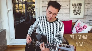 William Singe   Please   Acoustic Cover (Lyrics And Chords)