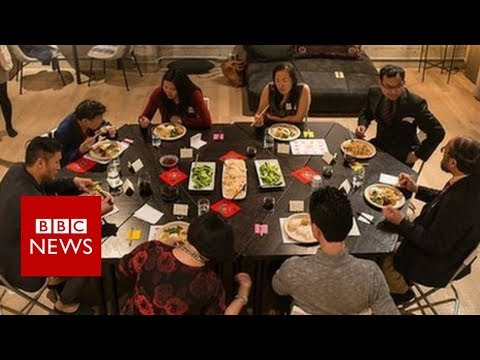 Can Chinese Americans solve differences over dinner? – BBC News