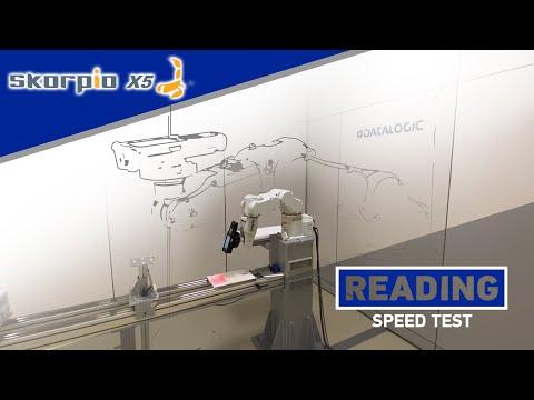 Skorpio X5 XLR | Reading speed test