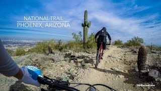 There's high-fives from hikers and plenty of rocks to smash on National Trail.