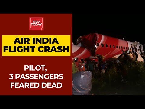 Kerala Air India Crash Updates: 1 Pilot, 3 Passengers Feared Dead In Flight Mishap
