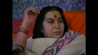 Shri Mataji Working On New People (part) thumbnail