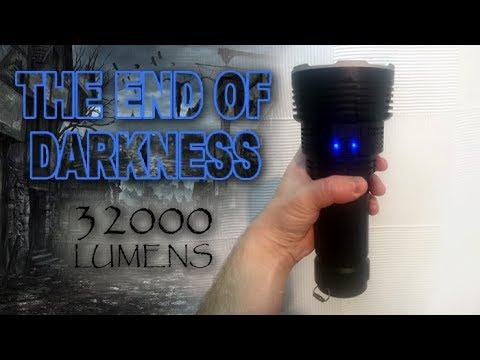 I measured a genuine 32,000 lumens!