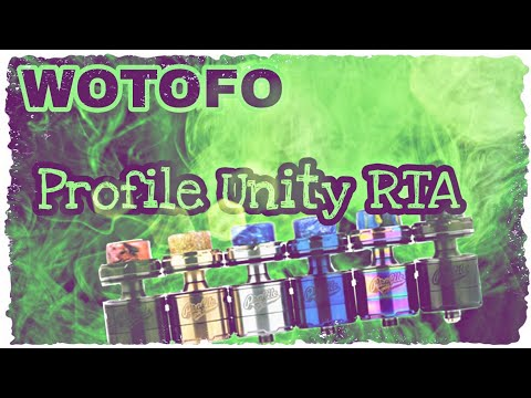 YouTube Video zu Wotofo Profile Unity Sieb Coil RTA Verdampfer 5 ml