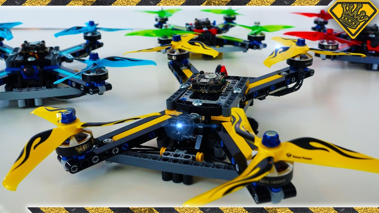 We Made an 80mph LEGO Drone
