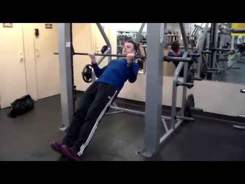 Joseph Brigley Exercise Index: Underhand Grip Inverted Row