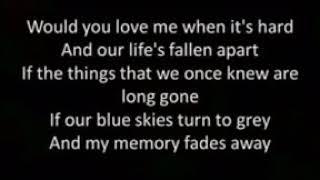 Would You Still Love Me  Lyrics Brian Nhira H264 641591