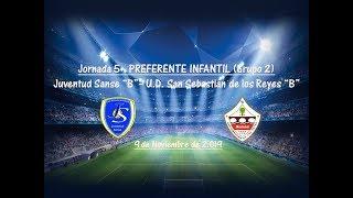 R.F.F.M. - Jornada 5 - Preferente Infantil (Grupo 2): Juventud Sanse 2-2 U.D. San Sebastian de los Reyes.