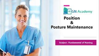 Position || Fundamental of Nursing || GN Academy || Nursing Competitive Exam || Nursing Coaching