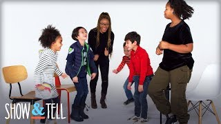 Kids Show & Tell Their Babysitter | Show and Tell | HiHo Kids
