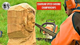 Chainsaw Speed Carving Championships 2018