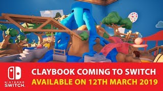 Claybook launches on Nintendo Switch March 12, 2019