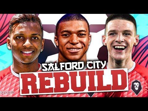 REBUILDING SALFORD CITY!!! FIFA 20 Career Mode