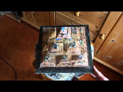 Die Tinktur aus der Zitrone und dem Knoblauch von warikosa