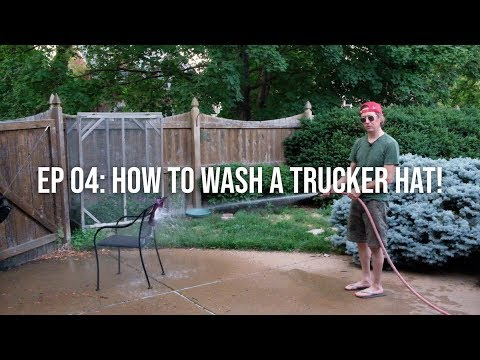 How to Wash a Trucker Hat!