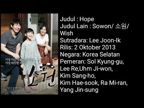 Sinopsis film korea  quot hope quot  bikin sedih
