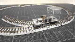 【鉄道模型】HOナロー ステッピングモーターで走らせてみた 2