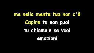 Lucio Battisti Emozioni Karaoke