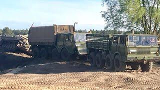 Ostfahrzeugtreffen Finowfurt 2018 Tatra 813 BMP-1 Maz 537 Zil 131