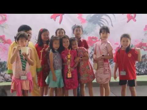 Perayaan Imlek di National High Jakarta School