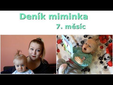Deník miminka | 7. měsíc
