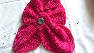 Schal Für Kinder Stricken Maus Schal Einfach Für Anfänger