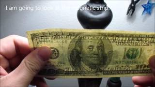 How to Detect a Counterfeit old $100