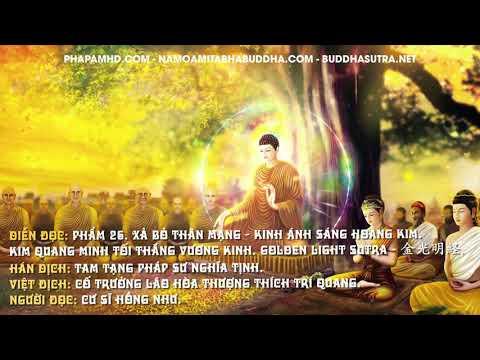 Phẩm 26. Xả Bỏ Thân Mạng - Kinh Ánh Sáng Hoàng Kim