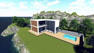L - Shaped House [Modern House]