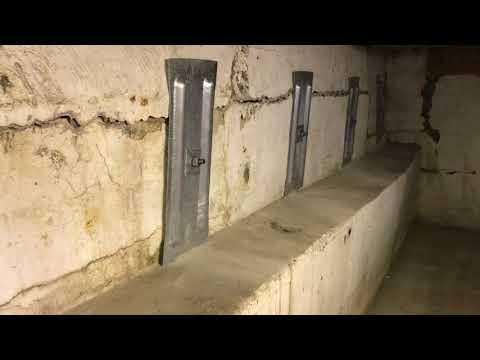 Why ledge walls are not the best solution for bowing basement walls