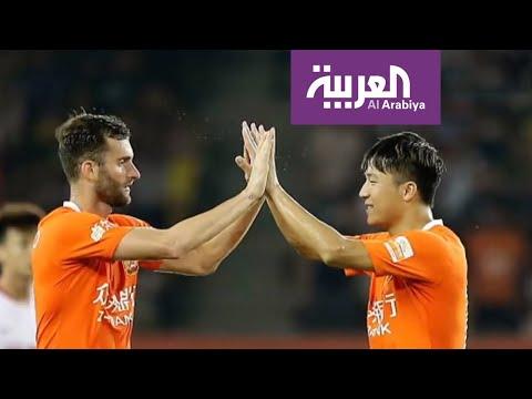 العرب اليوم - شاهد: فريق ووهان الصيني يثير الرعب في إسبانيا