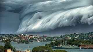 ตะลึง!เมฆประหลาดมหึมาปกคลุมซิดนีย์ - dooclip.me