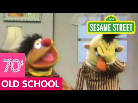 Sesame Street Bert Gets Angry