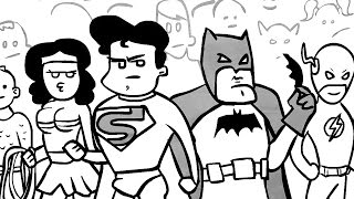 Justice League Unlimited On SourceFed Animated!