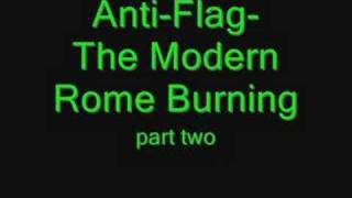 Anti-Flag -The Modern Rome Burning