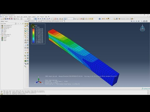 ABAQUS #1: A Basic Introduction - YouTube