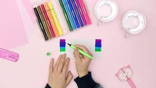 #DIY Crie um arco-íris com Hidrocor