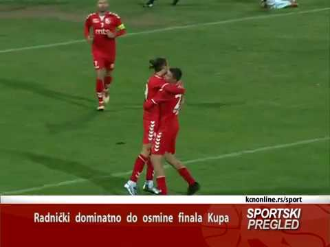 Radnički dominantno do osmine finala Kupa - (TV KCN 26.09.2018)