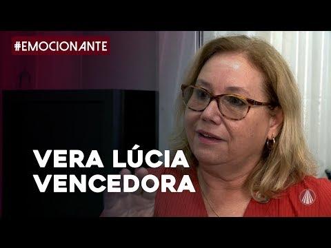 Vera Lucia venceu o câncer de mama