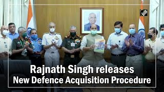 Rajnath Singh releases New Defence Acquisition Procedure - Download this Video in MP3, M4A, WEBM, MP4, 3GP