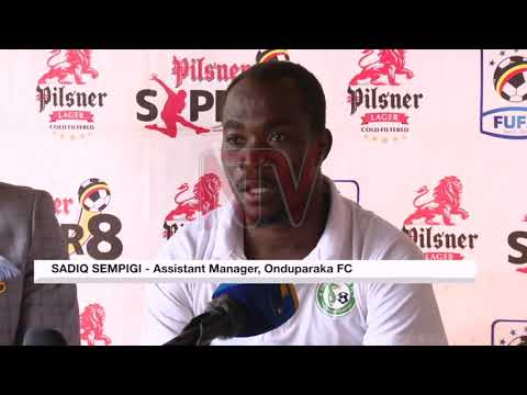 Mutebi says game against Oduparaka will be an assessment ahead of clash against African Stars