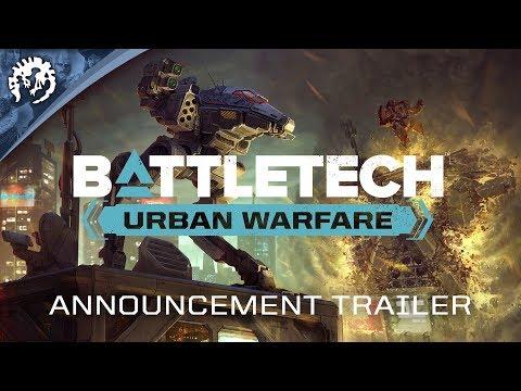 BATTLETECH: Urban Warfare | Announcement Trailer thumbnail