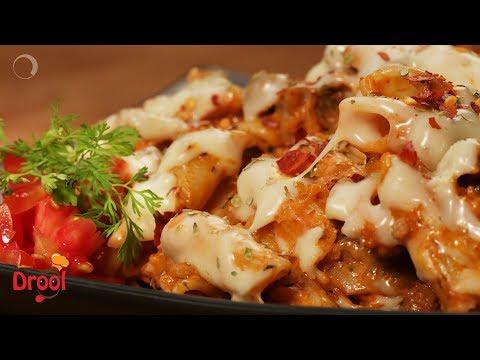 Chicken & Cheese Pasta |  Non-Veg Pasta Recipes