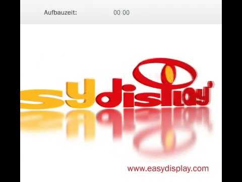 Easy PlexStand A4 - Präsentationsständer von Easydisplay