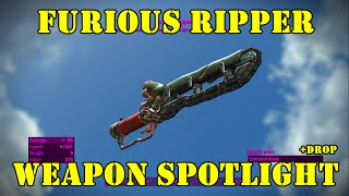 Fallout 4: Weapon Spotlights: Furious Ripper