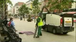 Just for Laughs Gags Road sweeper Video