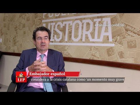 Embajador español considera a la crisis catalana como 'un momento muy grave'