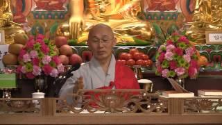 """""""처세를 잘하는(=지혜로운) 사람의 4가지 특징""""/법안스님(2013년 3월 23일)"""
