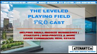 The Leveled Playing Field ProCast-What's a Tenant Rep Broker & What We Do- Part 1